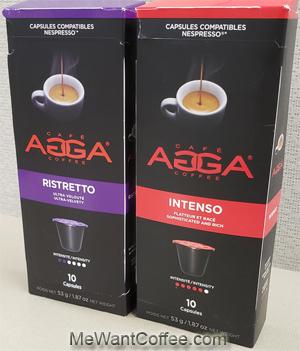 agga nespresso capsules