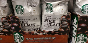 starbucks pike place coffee beans